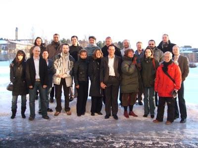 L'équipe du projet eLene-EE – Umeå/Suède